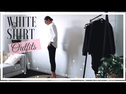 how-to-style-a-smart-white-shirt-|-2019-outfit-ideas