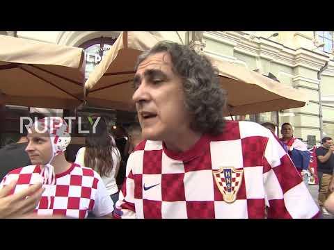 Russia: Politics shouldn't tarnish of World Cup – Croatia fans on 'Glory to Ukraine' video