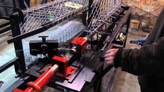 Станок для производства сетки рабицы полуавтоматический Automatic Chainlink Machine(http://www.vitaer.com.ua/ Станок полуавтоматический для производства сетки рабицы. Станок полуавтомат рабица ПС-М..., 2015-12-15T21:27:02.000Z)