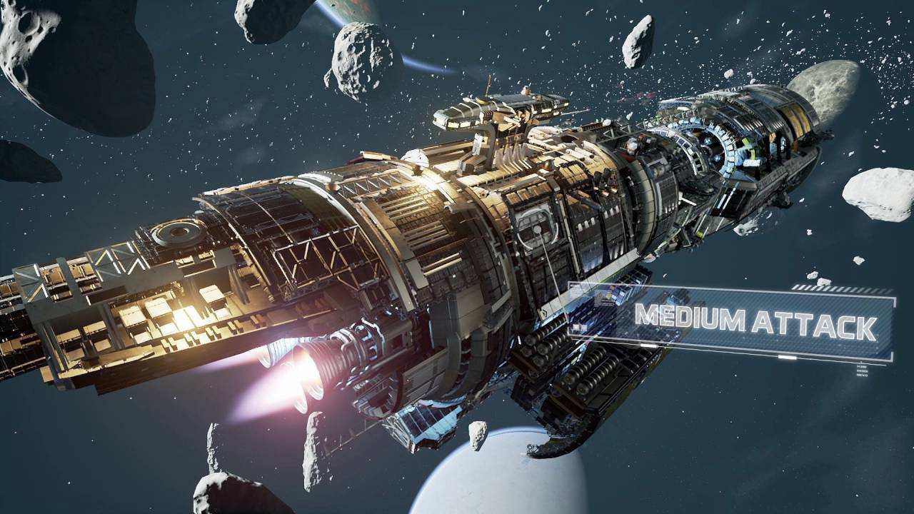 Fractured Space Launch Trailer