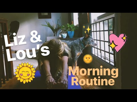 My Cattle Dog's Morning Routine!