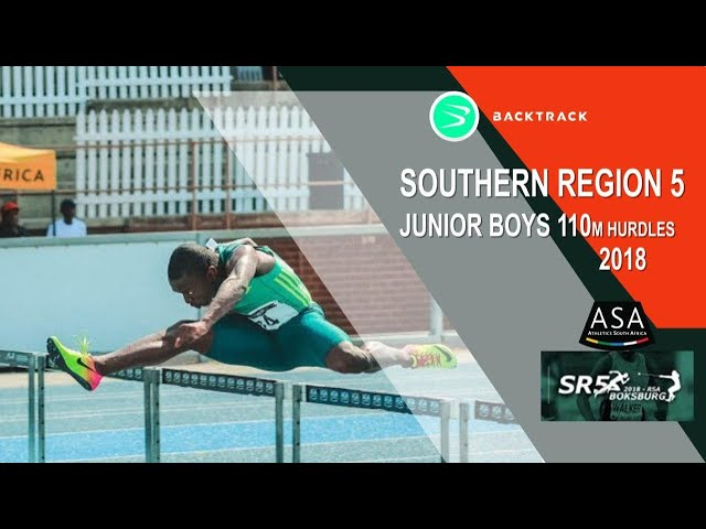 u20 Men 110mh with RSA head- to- head