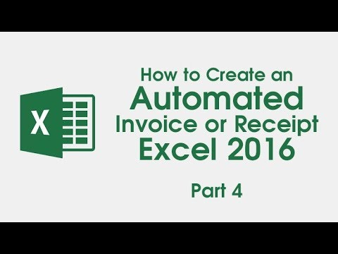 How To Create An Automated Invoice Receipt