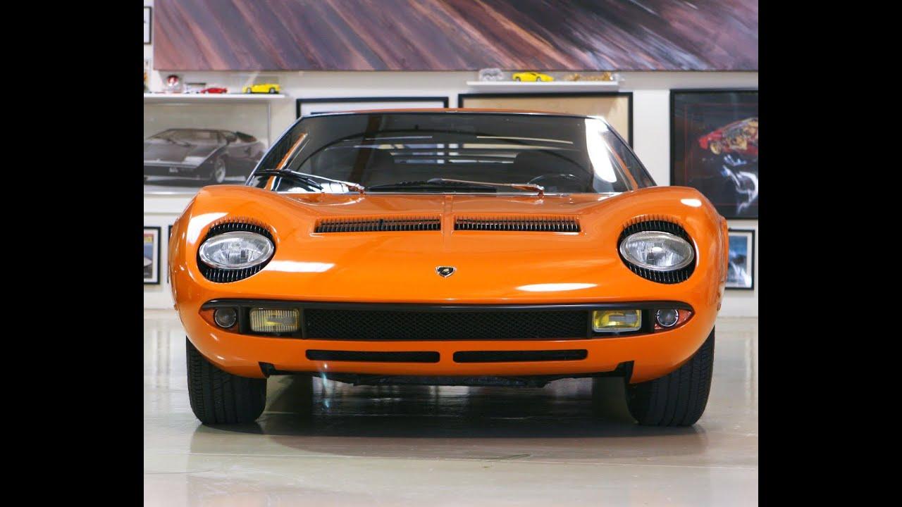 1969 Lamborghini Miura S Jay Leno S Garage Youtube