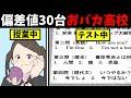 【漫画】偏差値30台のおバカ高校に入学したら、ありえない衝撃的出来事の連続だった(マンガ動画)