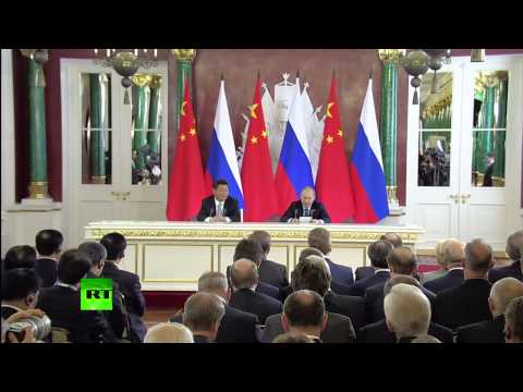 Russia, China agree to integrate Eurasian Union, Silk Road, sign deals | #Russia, #China Cooperation