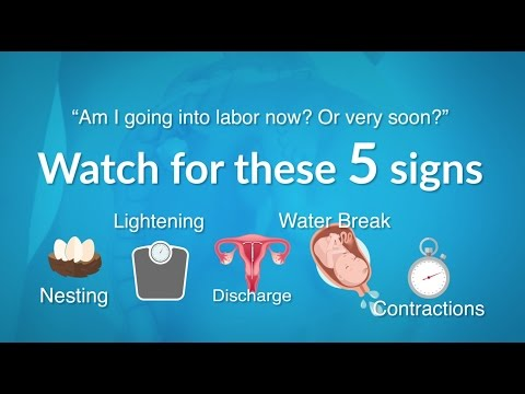 Countdown to Baby: 5 Signs of Labor