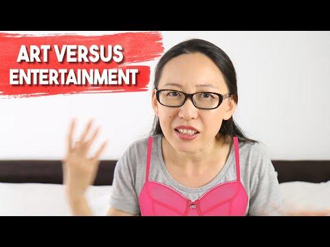 Art vs. Entertainment: Being an Artist