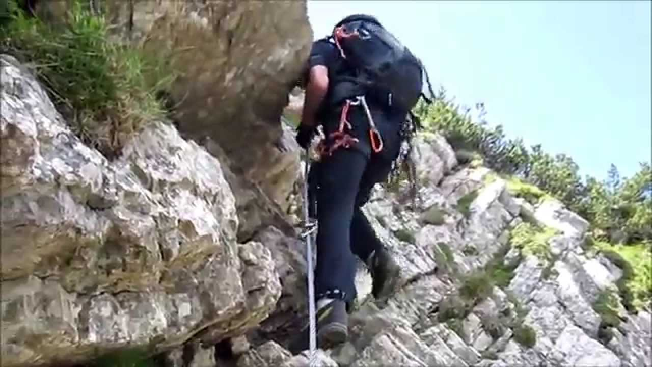 Klettersteig Oberjoch : Klettersteige für anfänger fünf touren spaß und genuss