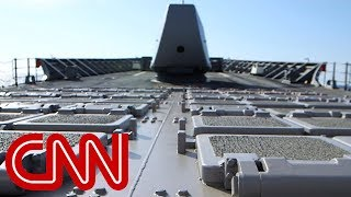 Exclusive: Life aboard a U.S. Navy missile cruiser