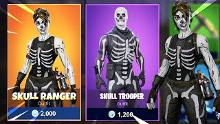 the Fortnite SKULL RANGER SKIN.. (New Halloween Skin)