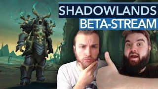 WoW Shadowlands: Wir spielen jetzt schon live die Beta!