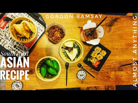 Gordon Ramsay's South-east asian Food.Noodle.tangy.Banana Fritter recipes. Almost anything