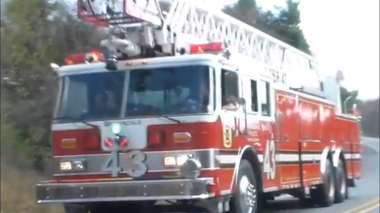 Browndale Ladder 43 Waymart 1 Responding Youtube
