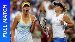 18-year-old Maria Sharapova vs 22-year-old Kim Clijsters | US Open 2005 Semifinal