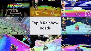 Mario Kart: Ranking the Rainbow Roads