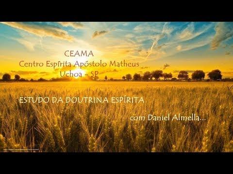 Estudo com Daniel Almella - As Bem Aventuranças - Bem aventurados os que têm Fome e Sede de Justiça