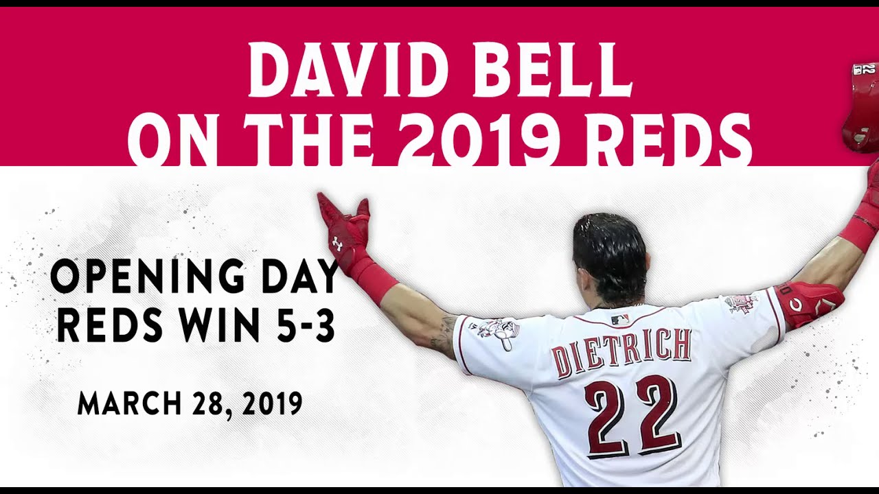 Bell on Reds Opening Day 2019