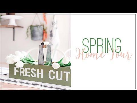 Spring Home Tour 2019   Modern Farmhouse Spring Decorating   Spring Decorating Ideas   Easter Decor