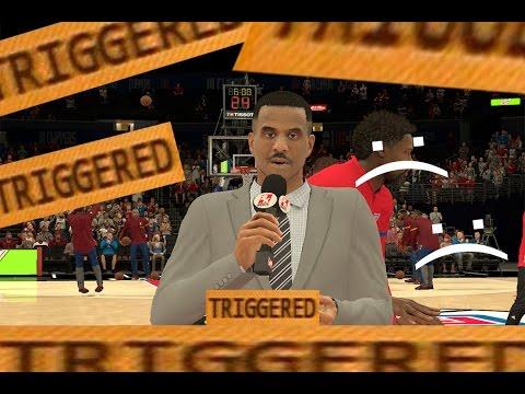 David Aldridge gets Triggered