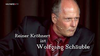 Reiner Kröhnert: Dass es so isch, wie's isch, isch doch die Krux