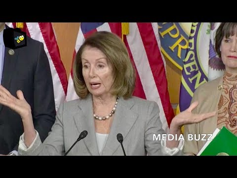 Nancy Pelosi And Democrats News Conference On Paying The Military 1/22/18