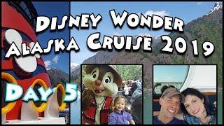 Disney Wonder Alaska Cruise Adventure 2019- Day 5; Juneau & Musher's Camp Dog Sledding