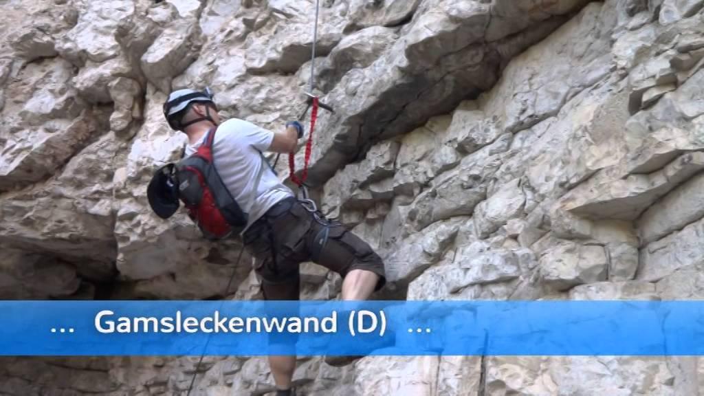 Klettersteig Wolfgangsee : Postalm klettersteig strobl am wolfgangsee sbg youtube