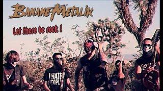 """Nouveau clip """"LET THERE BE ROCK"""" de Banane Metalik tourné dans le d..."""