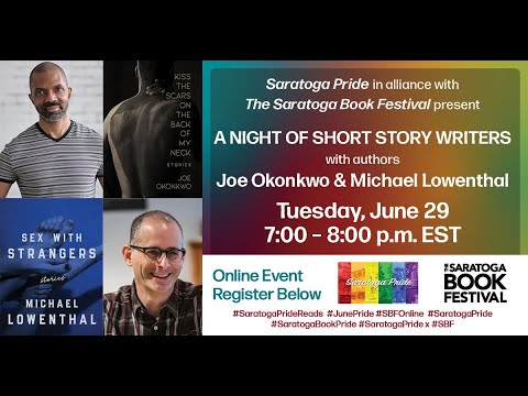 A Night of Short Story Writers   SARATOGA PRIDE in alliance with SBF OnlineSBF Pride in