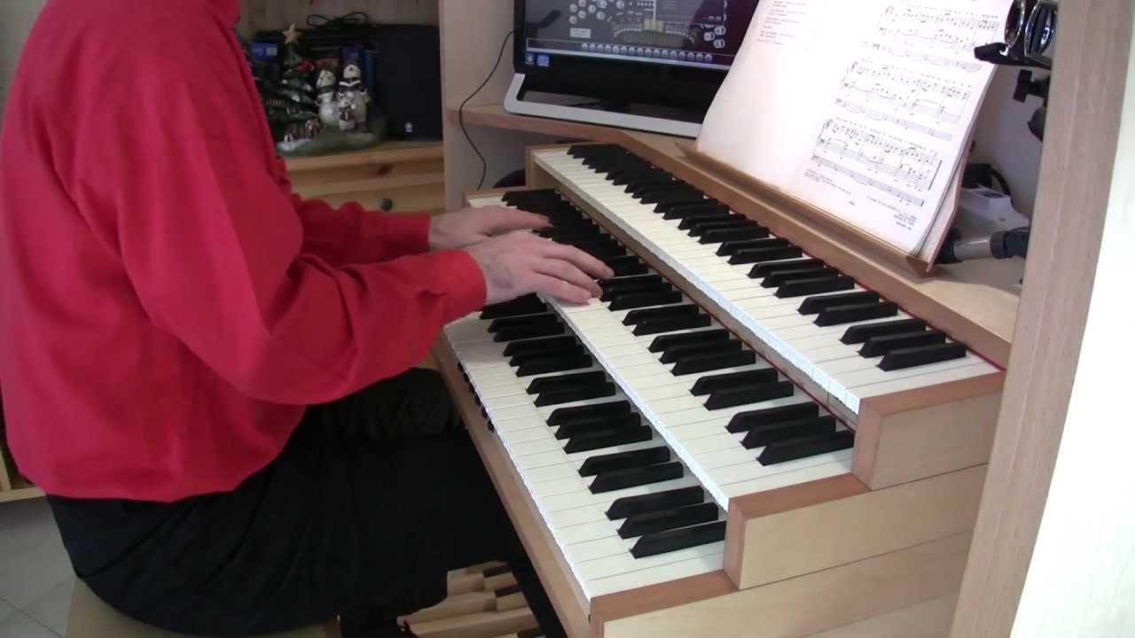 O Tannenbaum (O Christmas Tree) organ - YouTube