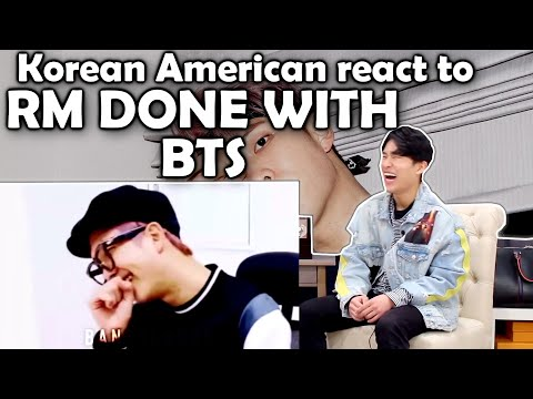 NAMJOON BEING DONE WITH BTS ENGLISH (KOREAN AMERICAN REACTION)