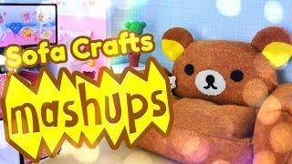 Mash Ups: Doll Sofas | Loveseats | Couches & Chairs