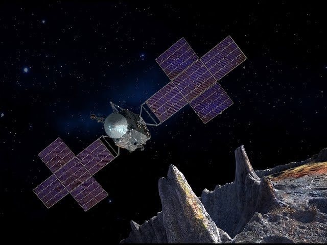 Inside NASA's Psyche Mission to Learn about Collisions and Crater Formation