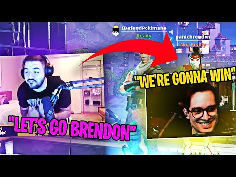 FUTURE PRO AM CHAMPIONS! TURNING BRENDON URIE PRO! (Fortnite: Battle Royale)