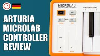 Arturia MICROLAB USB-MIDI Keyboard Im Test & Keystep Vergleich | SYNTH ANATOMY