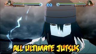 Naruto Shippuden Ultimate Ninja Storm 4 : All Ultimate Jutsus!