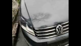 Reparatie PDR dupa grindina VW Capota lovita grindina