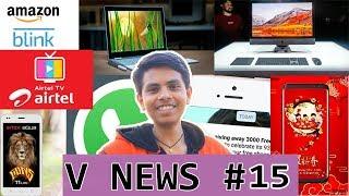 V News #15 - iMac Pro, AirtelRs.93 Pack Updated,  Airtel-Hostar Partnership, Mi mix 2s, Google sued