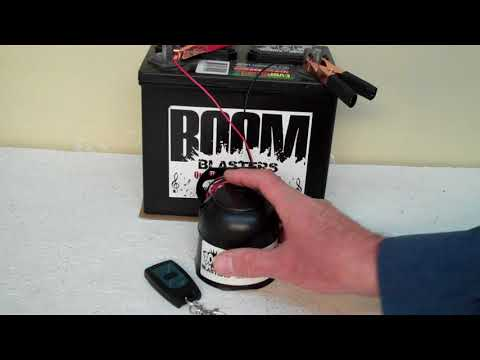 Jaws Theme Sounds Car Horn Wireless