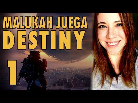 Malukah Juega Destiny en Español - Ep1