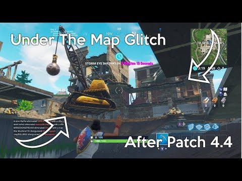 New Under The Map Glitch After Patch 4.4 - Fortnite Battle Royale