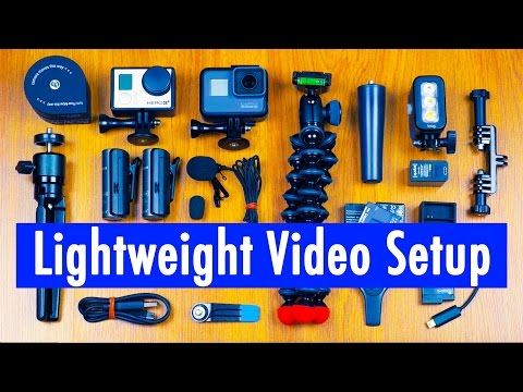 How To Pack A Lightweight GoPro Hero5 Travel Video Setup | RehaAlev