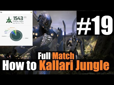 ►Top Platinum Rank | High Elo Kallari Jungle Full Game | 7/2 | Stream VOD #19 | Paragon