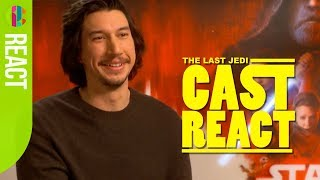 Star Wars: The Last Jedi cast react to fan questions!