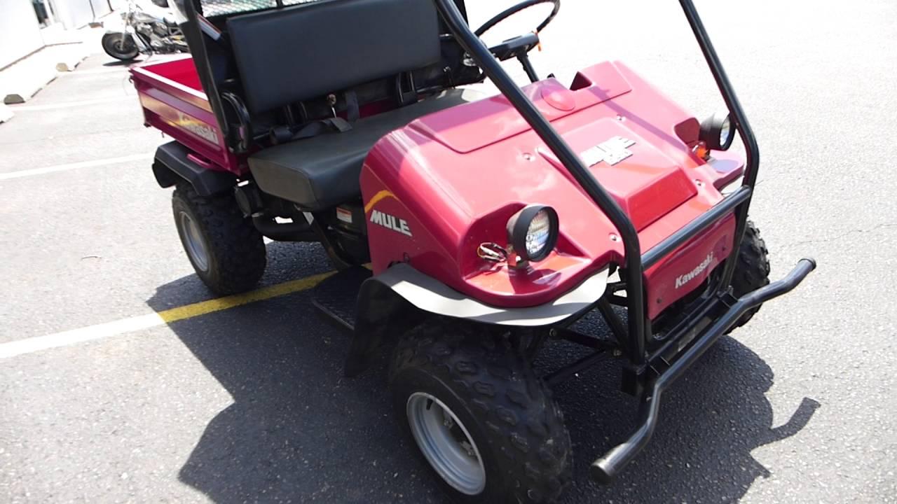 Kawasaki 550 Mule