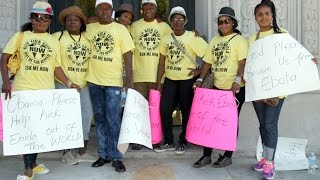 Global Ebola Rally Newark New Jersey