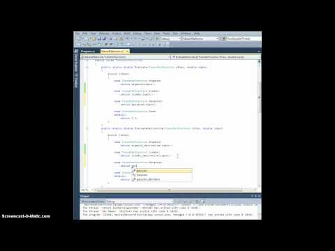 Neural Network Tutorial - Ch. 7.1 More transfer functions (Part 1)