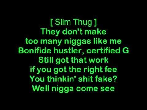 Slim Thug ft. Yelawolf - I Run [HQ & Lyrics]