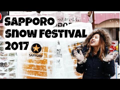 Sapporo Snow Festival 2017   Demi Travels